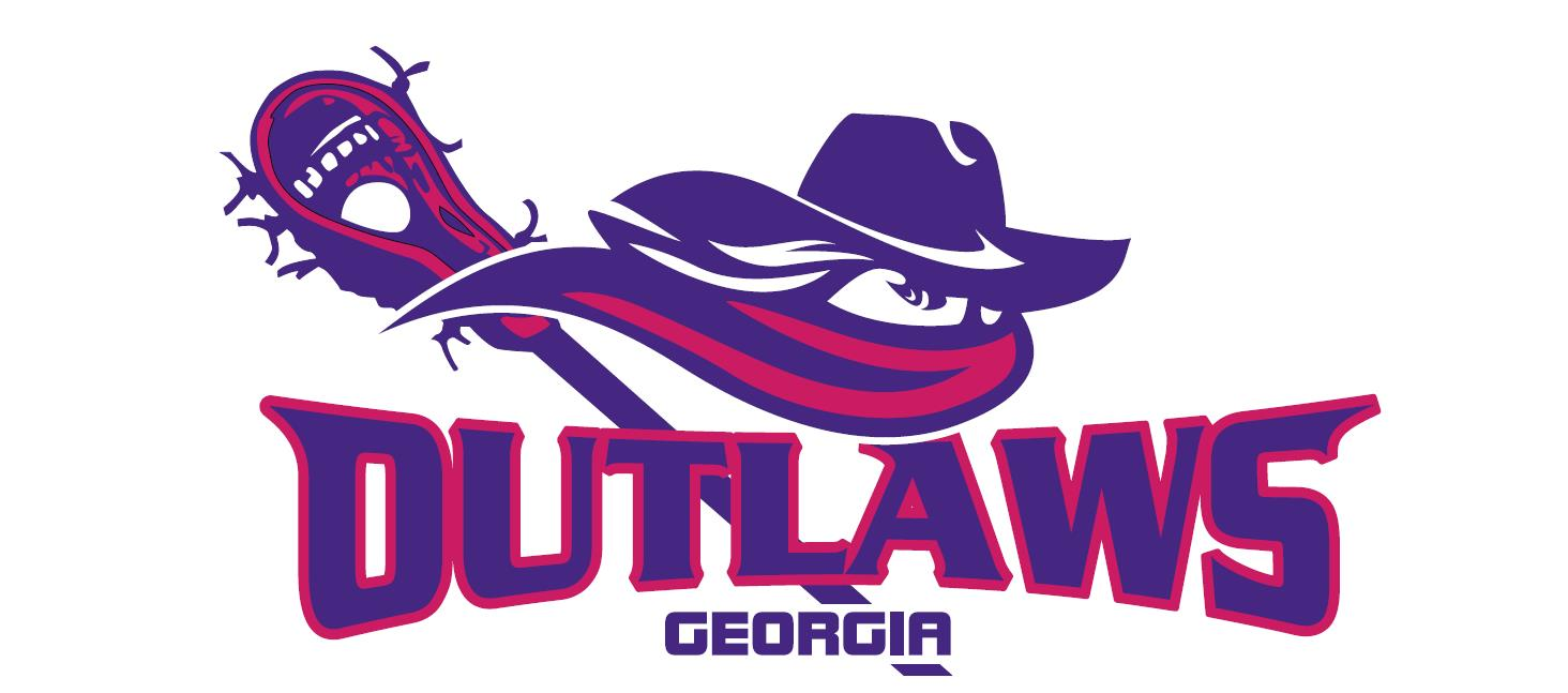 Lady Outlaws Lacrosse Logo
