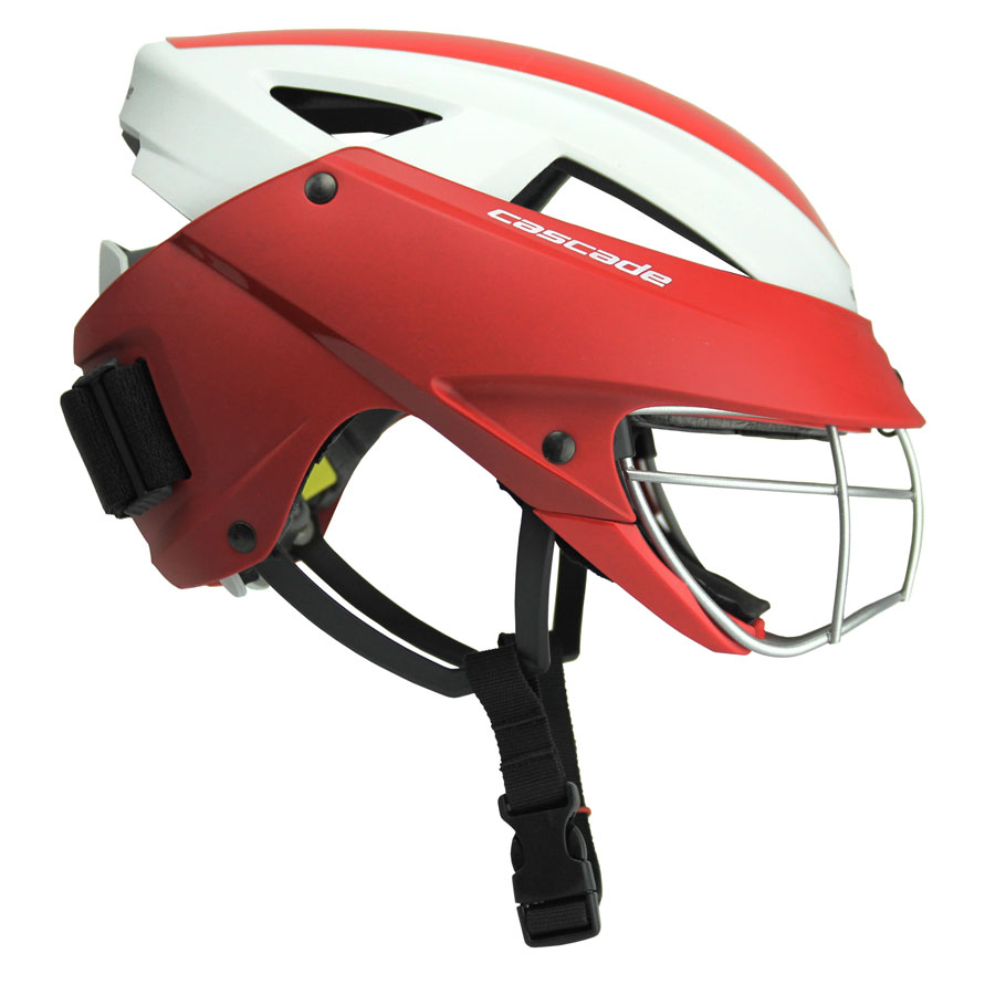 Girls LAX Headgear Sideview