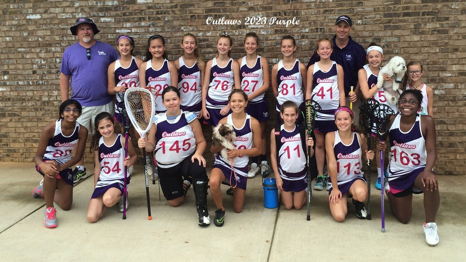 Lady Outlaws 2023 Purple Team